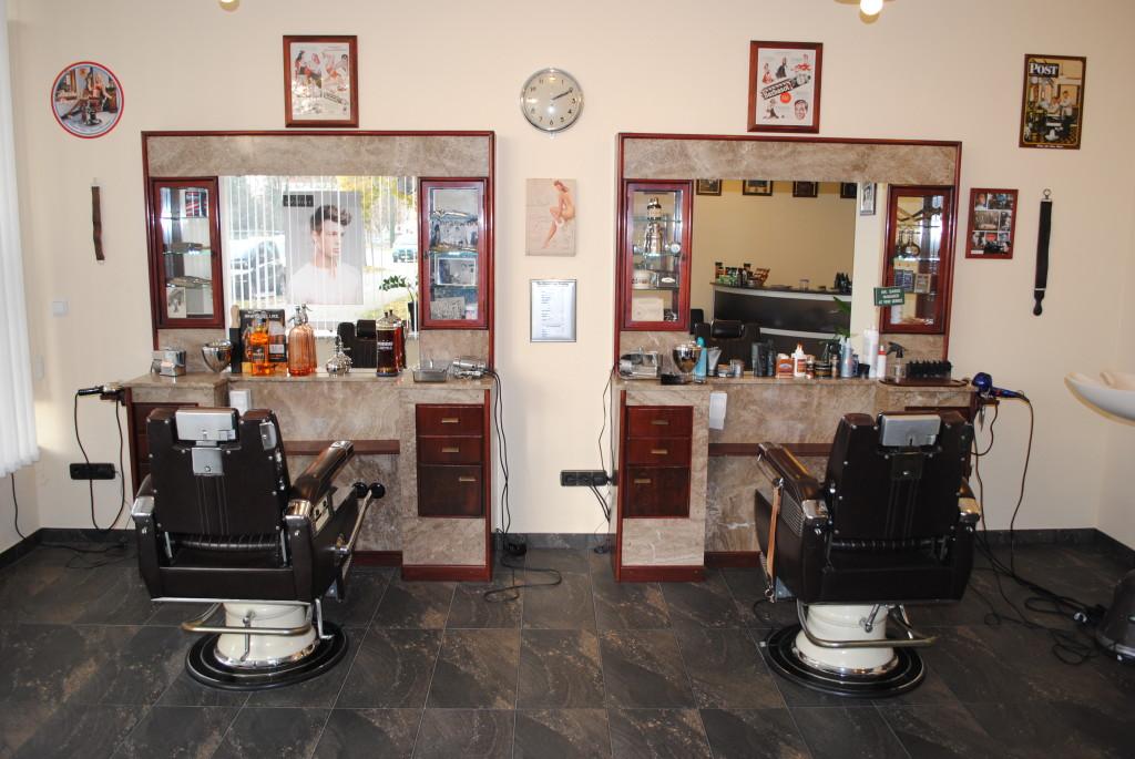 vecchio salone da parrucchiere