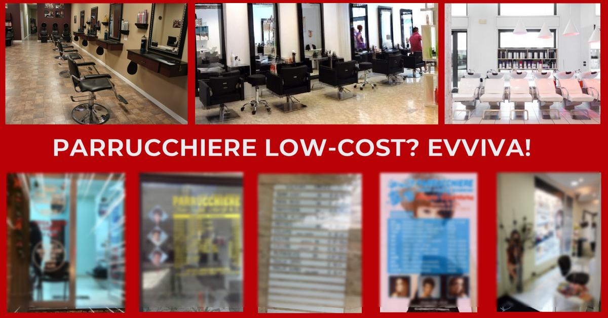 parrucchiere low cost